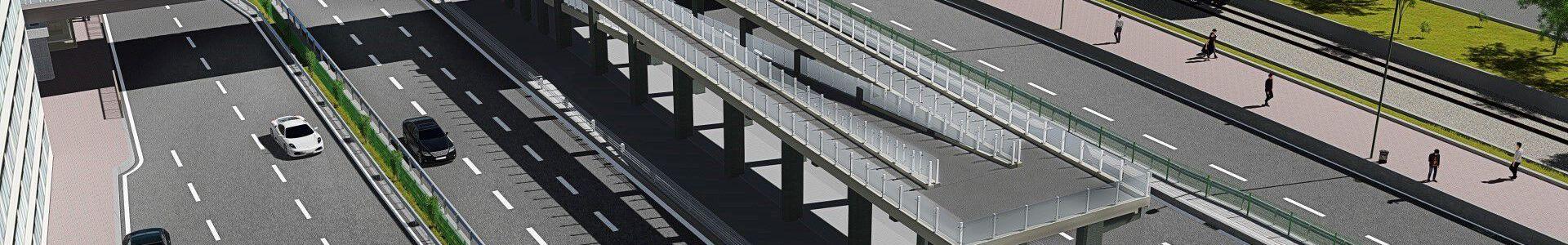 Şirinevler Metrobus Pedestrian Bridge
