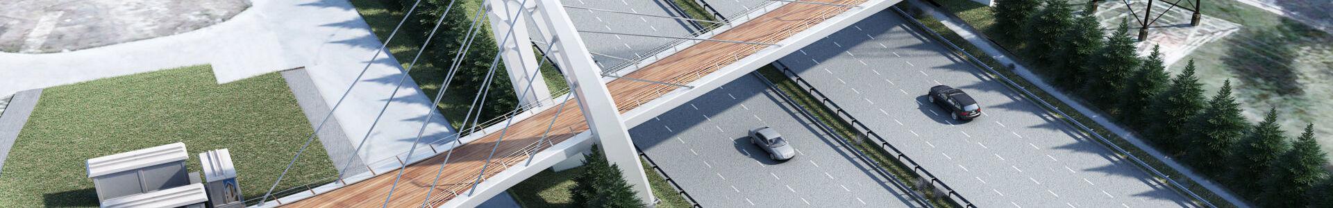 Çobançeşme Kartaltepe Pedestrian Bridge