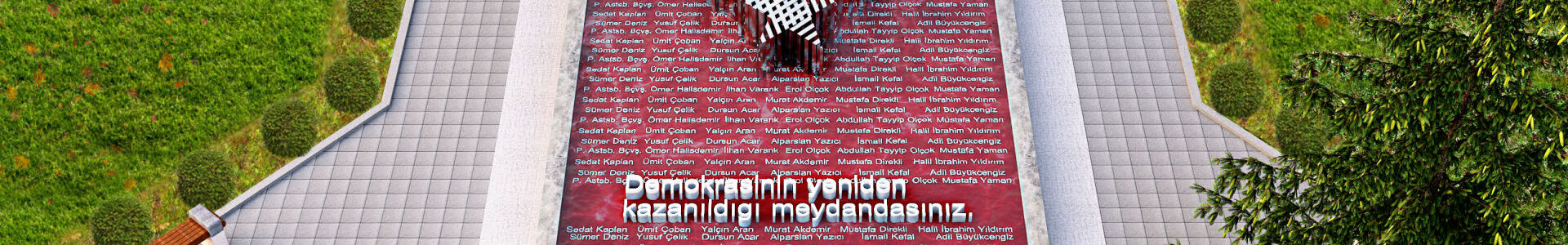 July 15 Martyrs of Democracy Park