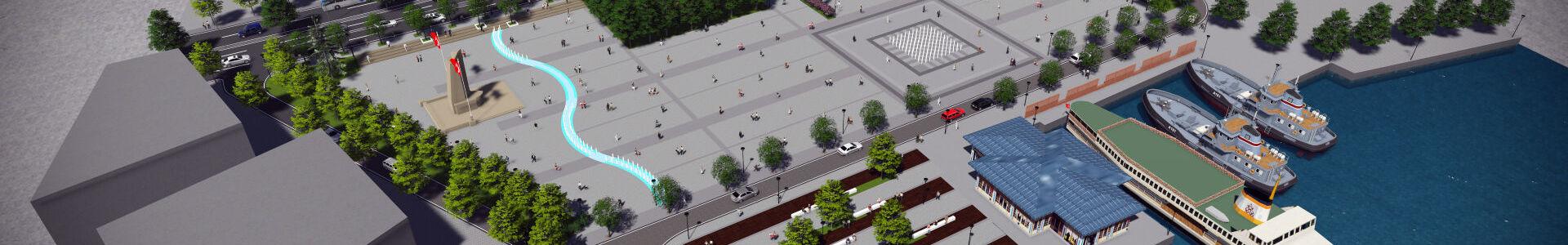 Beşiktaş Meydan Düzenleme Projesi