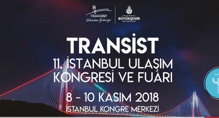 TRANSİST 2018 İSTANBUL ULAŞIM KONGRESİ VE FUARI