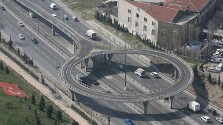 Metrobüs Topkapı Dönüş Köprüsü